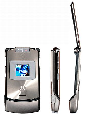 Debut del MOTORAZR maxx V3 i-mode de Motorola