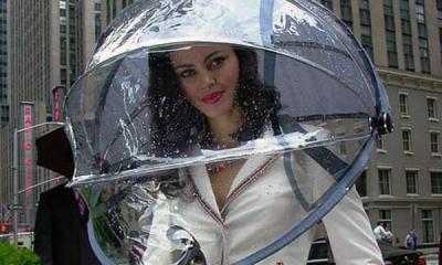 """Llegó el paraguas """"manos libres"""""""